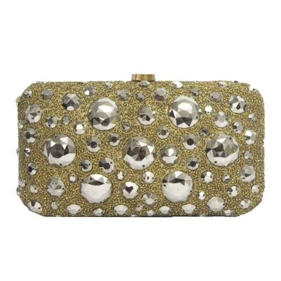Star clutch gold